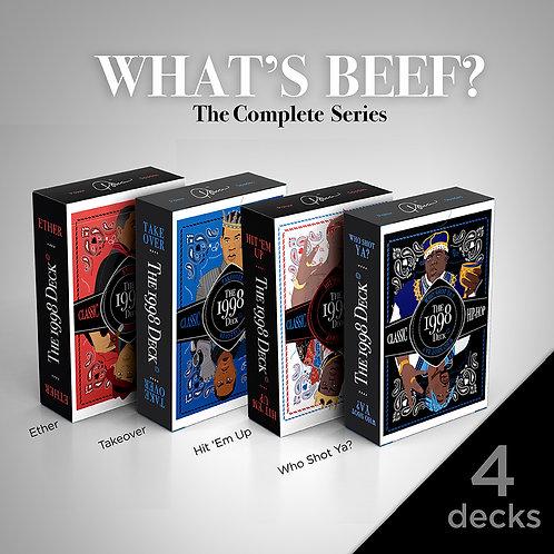 4 Decks-What's Beef?/The Remix