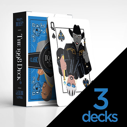 3 Decks -The Takeover