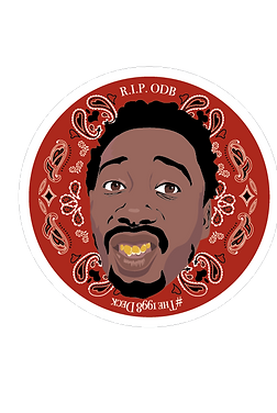 The 'Shimmy-Shimmy Ya!' Commemorative Sticker #RIPODB