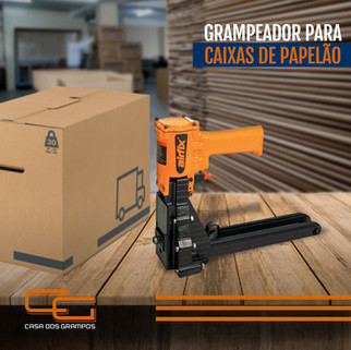 GRAMPEADOR PARA CAIXAS DE PAPELAO CASA D