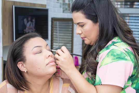 Workshop Make Aninha Duarte Salão de Beleza