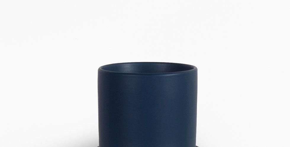 עציץ קופנהגן כחול   L