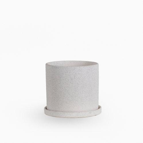 עציץ קופנהגן לבן מחוספס | XL
