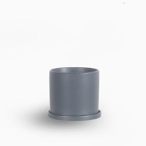 עציץ קופנהגן אפור | L