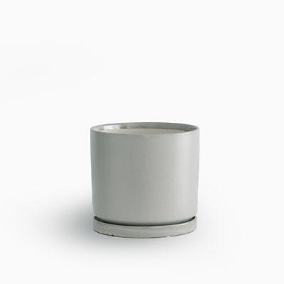 עציץ קופנהגן אפור בהיר | L