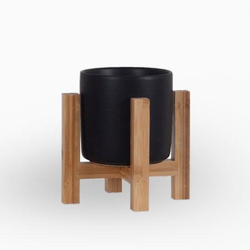עציץ וינה שחור | XL