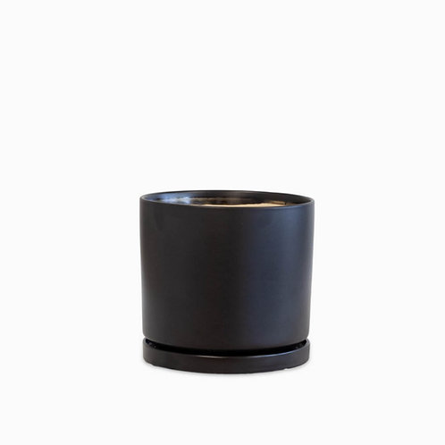 עציץ קופנהגן שחור   XL