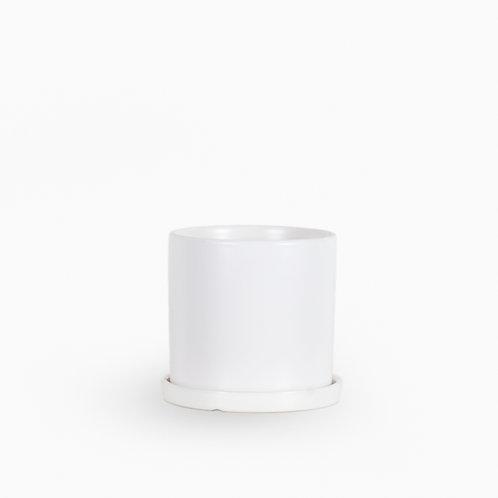 עציץ קופנהגן לבן | L