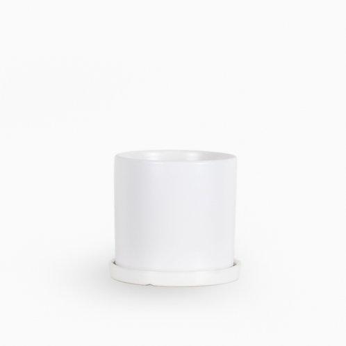 עציץ קופנהגן לבן   XL