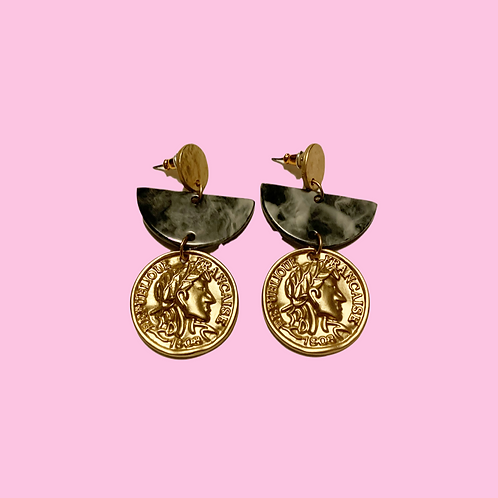 """""""About My Coins"""" Earrings"""