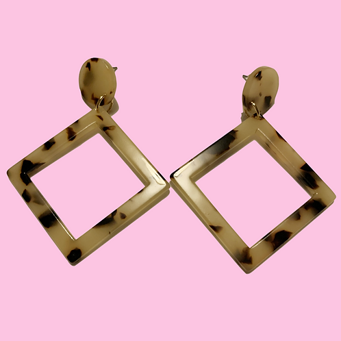 """Toot My Tortoise"" Earrings"