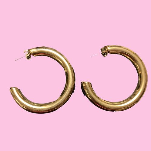 """""""Miss Mamas"""" Half Hoop Earrings"""