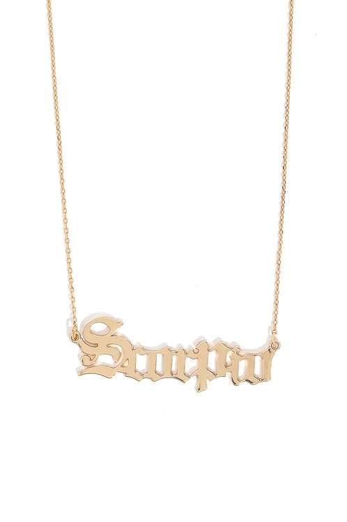 """""""These Are The Signs"""" Necklace in Scorpio"""