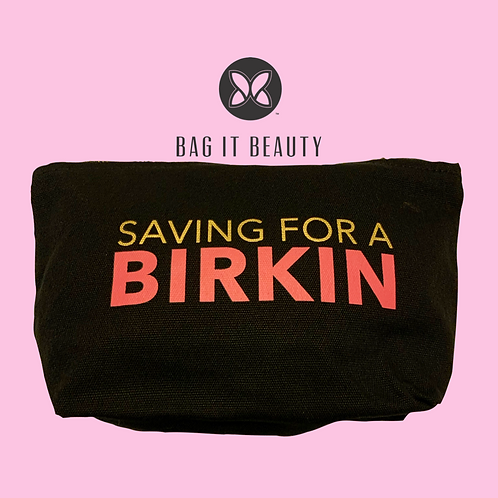 """Birkin Fund"" Accessory Pouch"