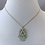 Thumbnail: Beads and Crystal Hamsa Necklace