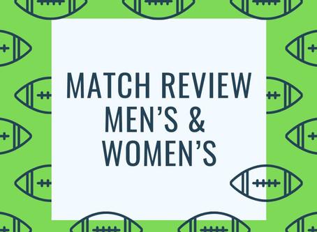 Match Review - Men's Round 4 & Women's Round 1