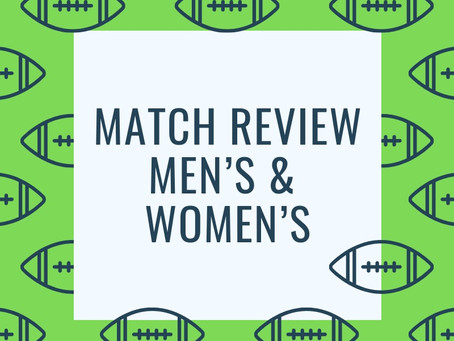 Match Review - Men's Round 4 & Women's Round 1