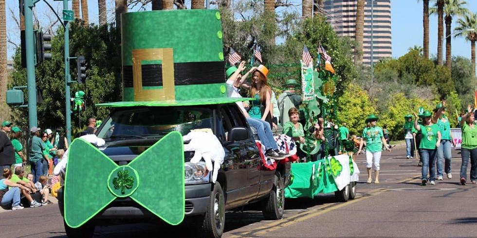 At Patrick's Day Parade