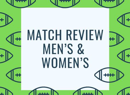 Match Review - Men's Round 5, Women's Round 2