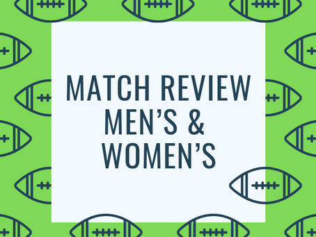 Match Review - Men's Round 5, Women's Round 2