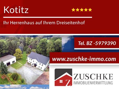 Kotitz - Ihr Herrenhaus auf Ihrem Dreiseitenhof