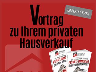 Vortrag zu Ihrem privaten Hausverkauf 🏡