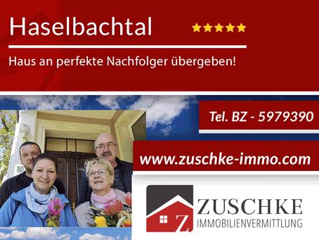 Haselbachtal - Traumhaus mit mediterranen Außenflair verkauft!