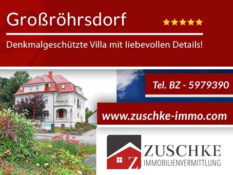 Großröhrsdorf - denkmalgeschützte Villa mit liebevollen Details