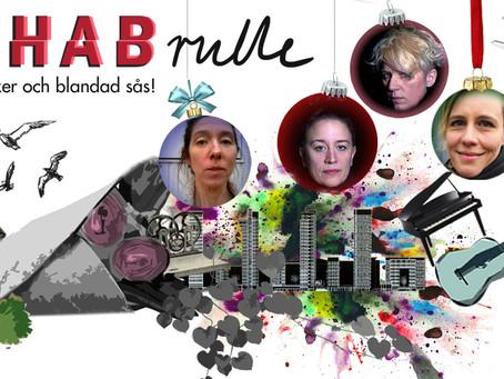 Rehabrulle 12 december med akustisk musik, monoger, sagor o dansk poesi