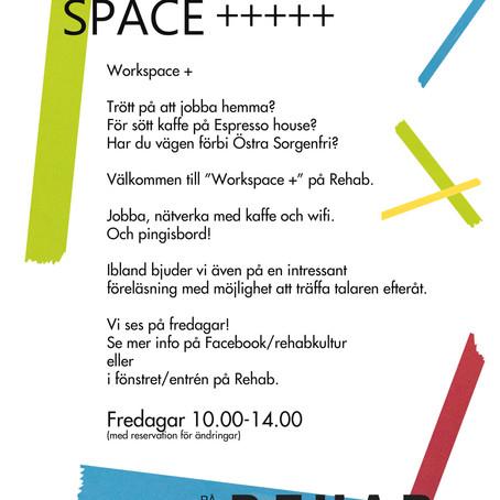 Nu kör vi igång med open work space på fredagar. Men det blir snart open work space with a twist