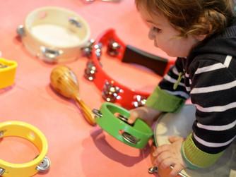 28 февраля в 10.00 состоится первое занятие по раннему музыкальному развитию  «Цветные нотки»