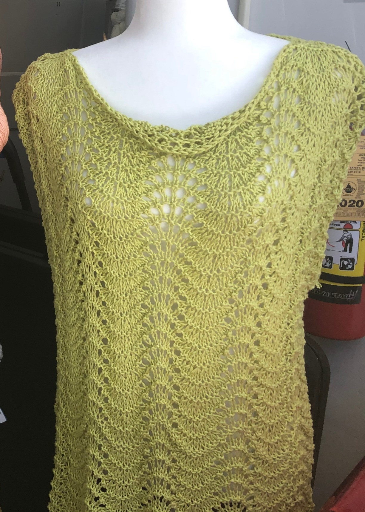 Knit the Shelley Summer Top