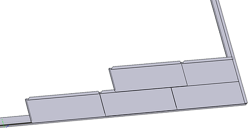 Rectangular Shingle Roof Install Example