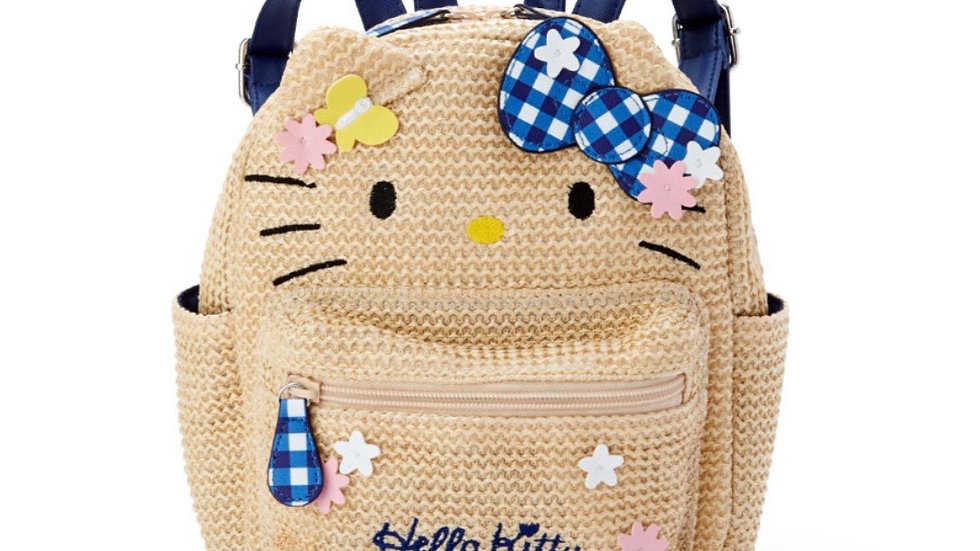 Hello Kitty Kids Basket Style Backpack