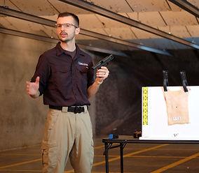 Shooting expert - Zack Kowalske - Detective - forensic training