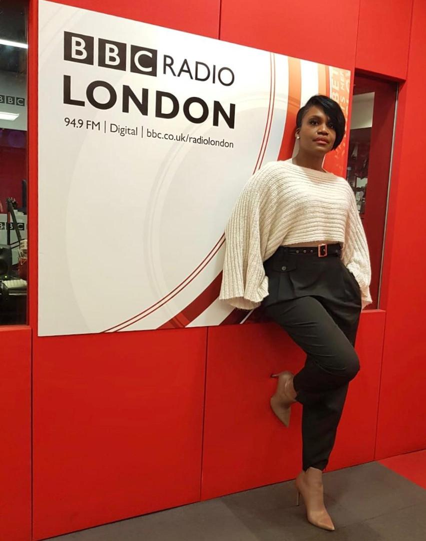 Kubi Talking at BBC Radion London about 'I AM MY BRAND'