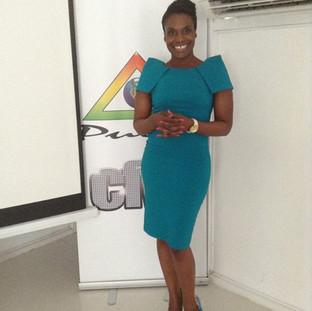 Teaching at Caribbean Fashion Week
