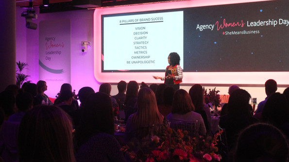 Kubi Speaking At Facebook Women In Leadership Day