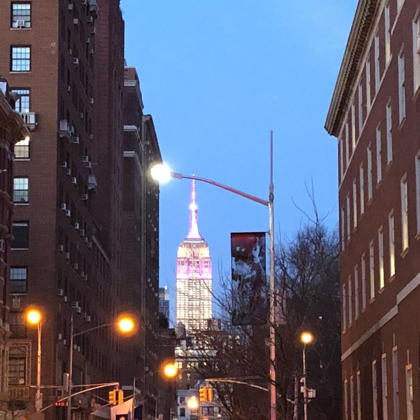 Love NYC at night