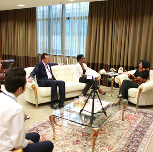 Meeting Dato in Malaysia