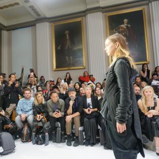 Front Row at London Fashion Week