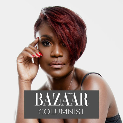 Kubi Springer, Columnist at Harper's Bazaar