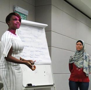 Kubi speaking at Universiti Putra Malaysia