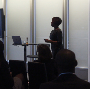 Kubi's speaking engagement on Personal Branding at Diversity in the City at Slaughter and May