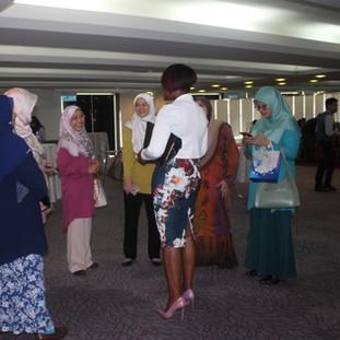 Kubi meeting attendees at Universiti Kebangsaan Malaysia