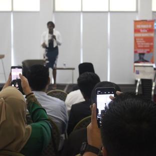 Kubi's speaking engagement at Universiti Kebangsaan Malaysia
