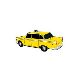 'Taxi Cab' Pin Design