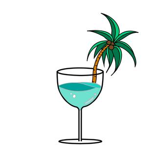 'Paradise' Pin Design