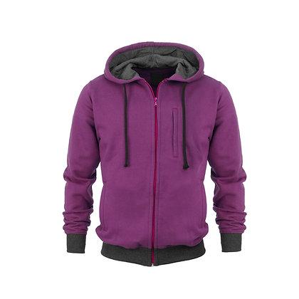 Zip Down Hoodie Coat