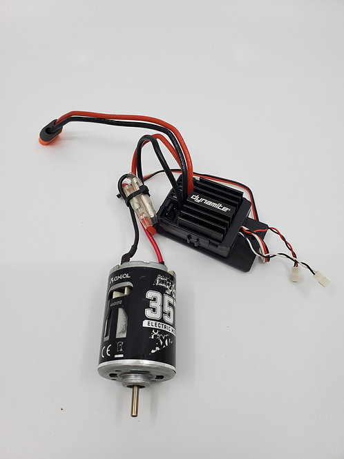 Axial ESC and 35T motor (new)